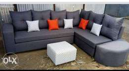 New best ready corner sofa free delivery