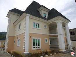5bedroom fully detached duplex + 3beroom Bougalow in Katampe extension