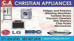 Fridges and deep freezers repairs and services
