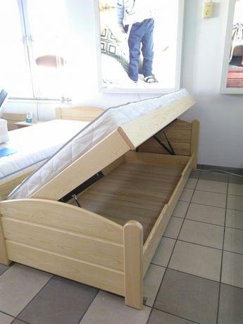 łóżko Tapczan 90x200 Drewniane Z Pojemnikiem Na Pościel Włocławek