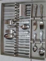 Catlery Set 56 Pieses 18 /8 Stainless Steel for sale