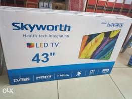 43 inch skyworth tv