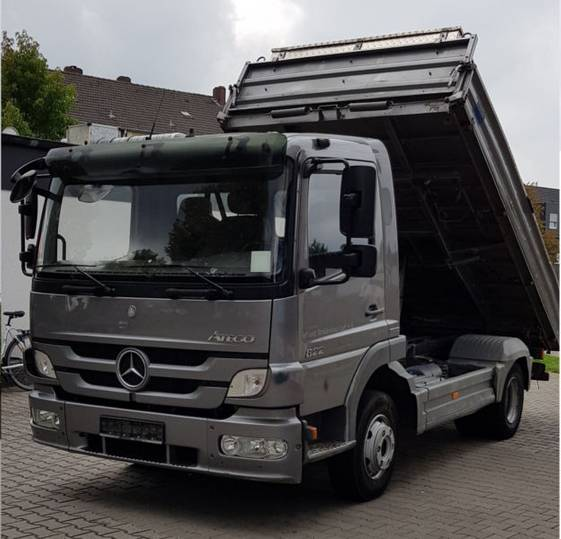 Mercedes-Benz Atego 822 3.S Kipper BlueTec5 - 2012