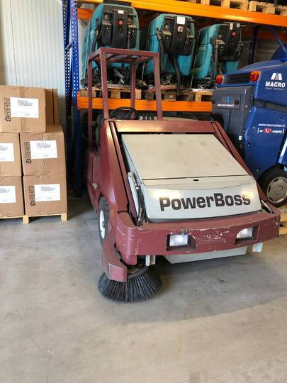 Veegmachine Powerboss Sw9xv