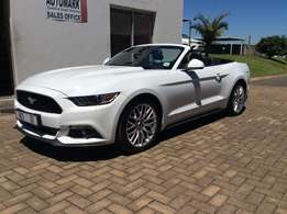 2017 Ford Mustang 2.3 Ecoboost Convertible