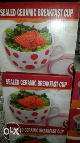 Gift item Deal- Sealed Ceramic Cereal Cups Lekki - image 1
