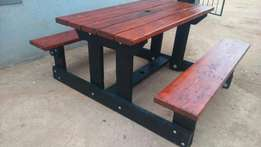 Benches manufactured from R1400