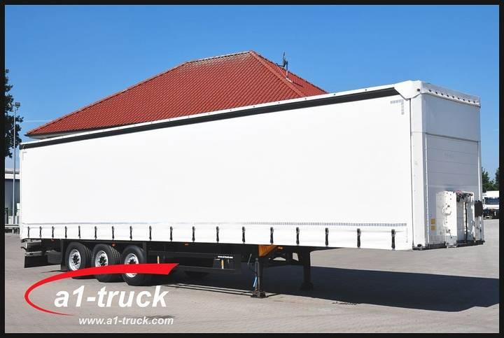 Schmitz Cargobull S01, verzinkt, Steckrungen,  neue Plane - 2012