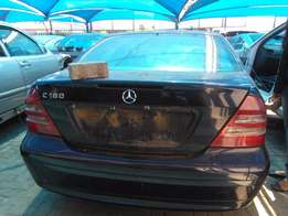 Mercedes-Benz C180 stripping for spares