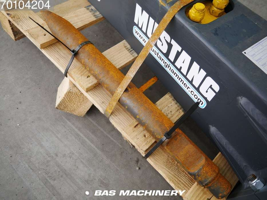 Mustang HM160 New hammer - suits mini excavator - 2019 - image 5