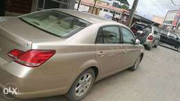 Toyota Avalon Limited 2007 model