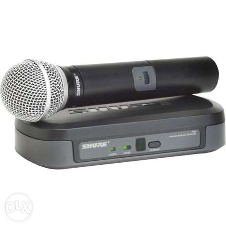 Shure Wireless and wired microphones Lagos - image 2