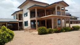 Five bedrooms self compound house for rent at Agbogba