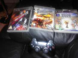 Games for ps3 + controller