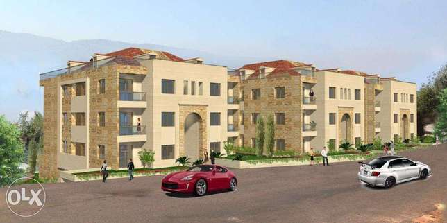 Ballouneh 320m2 duplex - panoramic view -