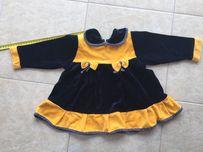 84f926a369 Sukienka Aksamit - Ubranka dla dzieci - OLX.pl