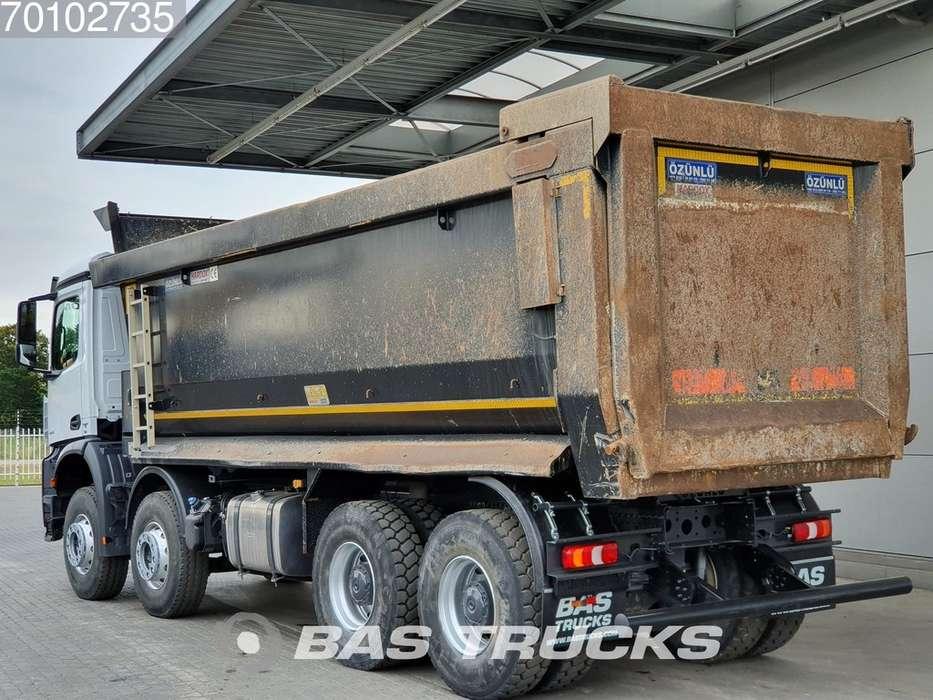 Mercedes-Benz Arocs 4145 S 8X4 Big-Axle Steelsuspension 27m3 Hydraulik ... - 2018 - image 2