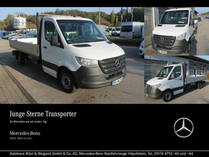 Mercedes-Benz Sprinter 316 CDI Maxi+Klima+Navi+Standheiz.+AHK - 2018
