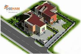 Executive 4bedroom storey for sale at Weija