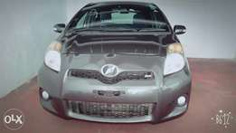 Toyota Vitz Rs 1300 cc low mileage fully loaded Gray in Colour.