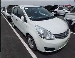 Nissan note 2WD white