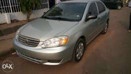 Tokunbo Toyota Corolla 2004 Silver
