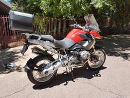 BMW 1200GS Red, Full Service Record. One Owner. Immaculate condition.