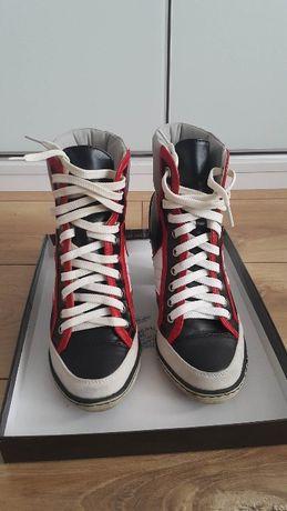 Sneakersy Trampki Granatowe z CCC, roz 38