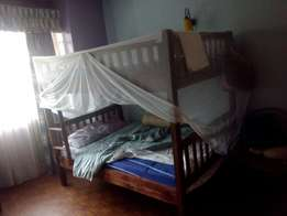 5 by 6, Double dacker bed, with mattress