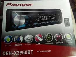 Pioneer Bluetooth/USB/MP3/AUX in car stereo, free delivery within nrb.