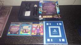 PS3 Move with Remote Camera and 3 Games