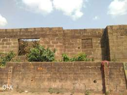 Uncompleted structure For sale at Ijoko Otta