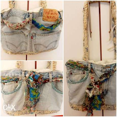 Jeans stylish bag