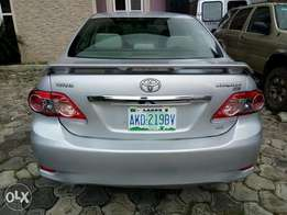 Neatly used Toyota corolla 2012