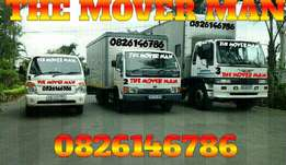 The mover man transport services . Free quotes