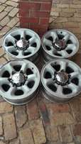 Mags for your bakkie 15 inch 6/139pcd