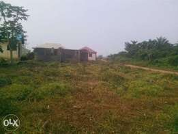 A plot of land with 3bedroom flat in ota within an estate