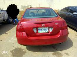 Grade One 2007 Honda Accord (Discussion Continue) urgent sale