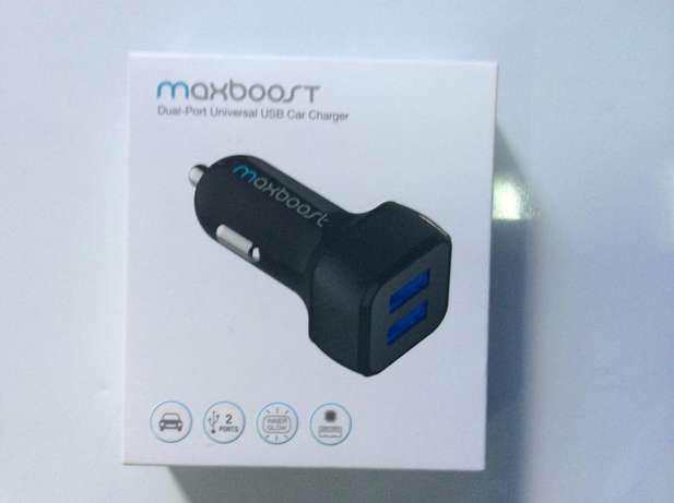 Car Charger Smart Port Car Charge r [Black] Nairobi West - image 1