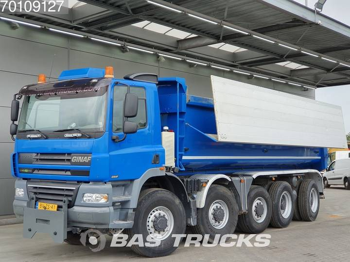 Ginaf X 5450 S 10X8 Manual Big-Axle Lenk-Liftachse Euro 5 - 2009