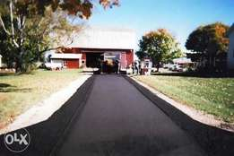 Tar Surfacing And Speed Humps