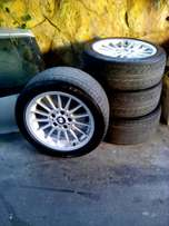 Urgent sale Bmw z3 mags 17in with tyres good condition