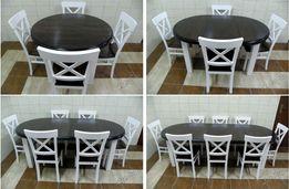 Stół Okrągły Stoły I Krzesła Olxpl