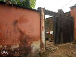 Half plot (30 by 120) of Land by fasheun bridge, ago, okota,lagos