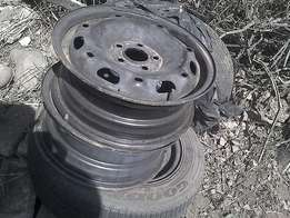 14 Inch steel rims for sale