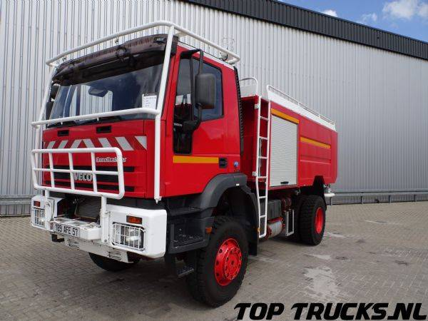 Iveco Eurotrakker 190E30 4X4 8.000 Ltr. Rosenbauer, feuerwehr -... - 1999