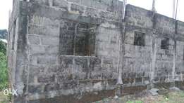 Uncompleted Bungalow of 3 Flats