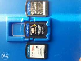 3 Ps vita cartridge for sell