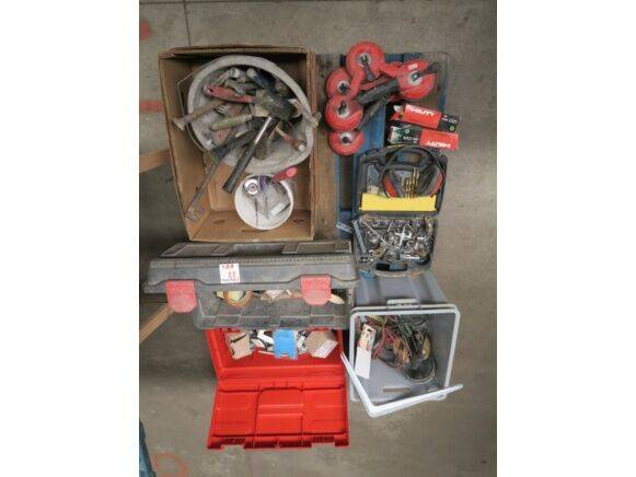 Hilti Hand Tools, electric equipment, bales for nailer