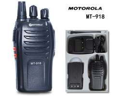 Motorola MT-918/618 Portable 2-Way Radio Walkie Talkie